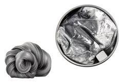 Plastilina inteligenta cu magnet din neodim inclus, culoare argintiu
