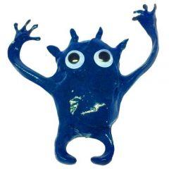 Plastilina inteligenta cu magnet din neodim inclus, culoare albastru