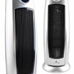 Aeroterma turn si ventilator 2000W, oscilatie automata, telecomanda, timer, display LED, Termostat, 4 moduri de operare