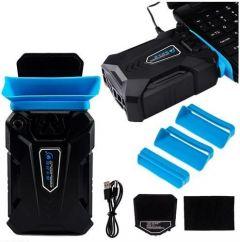 Ventilaror Vacuum Cooler pentru Racire Laptop, Portabil, 3000rpm, Alimentare USB