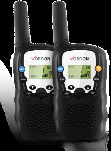 Statie Radio Portabila Walkie-Talkie Emisie Receptie cu Afisaj LCD, Lanterna, Raza Acoperire 5km, 22 Canale