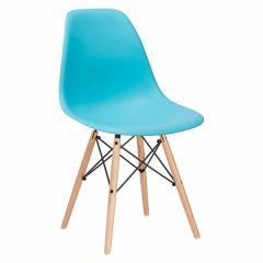 Scaun modern pentru living sau bucatarie Milano, 120kg, albastru