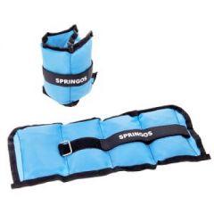 Set greutati fitness pentru maini si picioare, 2x1.5 kg, 2 buc, albastru