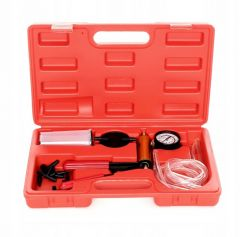 Pompa vacuum manuala cu manometru, pentru aerisit sistem franare