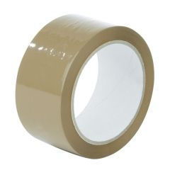 Banda adeziva pentru ambalat, 50mm, maro