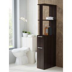 Dulap spatios modern pentru baie, model Regal SP-25, culoare wenge