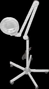 Lampa Profesionala cu stativ pentru Cosmetica sau Stomatologie Reglabila cu Iluminare, Lupa Macroscop 8D, Putere 22W