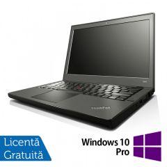 Laptop Reconditionat LENOVO Thinkpad x240 Intel Core i5-4300U 1.90GHz up to 2.90GHz 4GB DDR3 500GB SATA + Windows 10 Pro