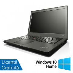 Laptop Reconditionat LENOVO Thinkpad x240 Intel Core i5-4300U 1.90GHz up to 2.90GHz 4GB DDR3 500GB SATA + Windows 10 Home