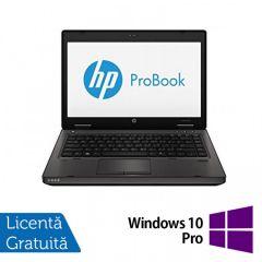 Laptop Reconditionat HP ProBook 6470B, Intel Core i5-3210M 2.50GHz, 4GB DDR3, 320GB SATA, DVD-RW, 14 Inch + Windows 10 Pro