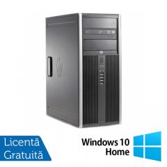 Calculator Reconditionat HP 6200 Tower Intel Core i5-2400 3.10GHz up to 3.40GHz 4GB DDR3 250GB SATA DVD-RW + Windows 10 Home