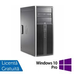 Calculator Reconditionat HP 6200 Pro Tower Intel Core i7-2600 3.40GHz up to 3.80GHz 4GB DDR3 320GB SATA DVD-RW + Windows 10 Pro