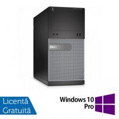 Calculator Reconditionat DELL Optiplex 3020 Tower Intel Core i3-4160 3.60 GHz 4GB DDR3 250GB SATA DVD-RW + Windows 10 Pro
