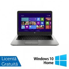 Laptop Reconditionat HP Elitebook 820 G2, Intel Core i5-5200U 2.20GHz, 16GB DDR3, 120GB SSD, 12 Inch + Windows 10 Home