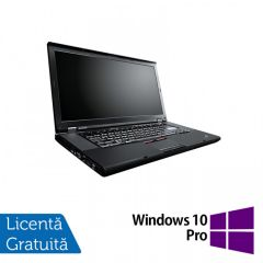 Laptop Reconditionat Lenovo ThinkPad W520, Intel Core i7-2860QM 2.50GHz, 8GB DDR3, 320GB SATA, Nvidia Quadro 1000 2GB, Webcam, 15.6 Inch + Windows 10 Pro