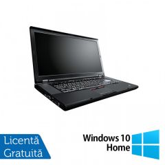 Laptop Reconditionat Lenovo ThinkPad W520, Intel Core i7-2860QM 2.50GHz, 8GB DDR3, 320GB SATA, Nvidia Quadro 1000 2GB, Webcam, 15.6 Inch + Windows 10 Home