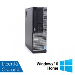 Calculator Reconditionat DELL OptiPlex 9020 SFF Intel Core i5-4590 3.30GHz up to 3.70GHz 8GB DDR3 500GB HDD DVD-RW + Windows 10 Home