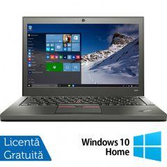 Laptop Reconditionat Lenovo Thinkpad X250, Intel Core i5-5300U 2.30GHz, 8GB DDR3, 500GB SATA, 12.5 Inch + Windows 10 Home