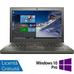Laptop Reconditionat Lenovo Thinkpad X250, Intel Core i5-5300U 2.30GHz, 8GB DDR3, 500GB SATA, 12.5 Inch + Windows 10 Pro