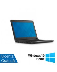Laptop Reconditionat DELL Latitude 3350, Intel Core i5-5200U 2.20GHz, 4GB DDR3, 120GB SSD, Wireless, Bluetooth, Webcam, 13.3 Inch + Windows 10 Home