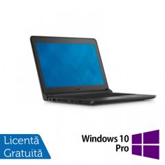 Laptop Reconditionat DELL Latitude 3350, Intel Core i5-5200U 2.20GHz, 8GB DDR3, 320GB SATA, Wireless, Bluetooth, Webcam, 13.3 Inch + Windows 10 Pro