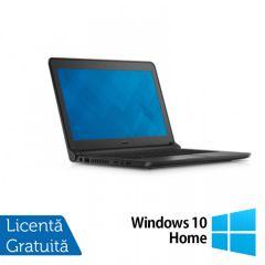 Laptop Reconditionat DELL Latitude 3350, Intel Core i5-5200U 2.20GHz, 16GB DDR3, 120GB SSD, Wireless, Bluetooth, Webcam, 13.3 Inch + Windows 10 Home
