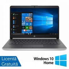 Laptop HP 14-DF0023CL Intel Core i3-8130U 2.20GHz 4GB DDR4 128GB M.2 SSD 14 Inch Full HD IPS LED + Windows 10 Home + BONUS Licenta retail Bitdefender Antivirus Plus 2019 noua valabila pentru 1 an, 3 dispozitive