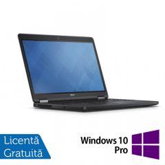 Laptop Reconditionat DELL Latitude E5250, Intel Core i5-5300U 2.30GHz, 8GB DDR3, 120GB SSD, 13 Inch + Windows 10 Pro