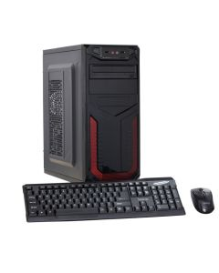 Calculator Sistem PC Intel Core i7-2600 3.40GHz up to 3.80GHz Sandy bridge 4GB DDR3 120GB SSD DVD-RW + Bonus: Tastatura si mouse