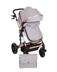Carucior transformabil 2 in 1 Darling Grey Ribbon