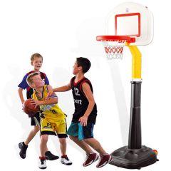Cos de baschet profesional, reglabil cu suport si roti