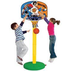 Cos de baschet reglabil Super Basketball