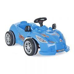 Masinuta cu pedale Speedy Car Blue