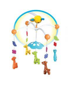 Carusel muzical cu telecomanda Giraffe
