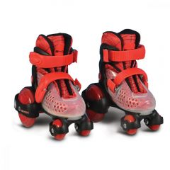 Patine cu rotile Little Beetle Red Boy 26-29
