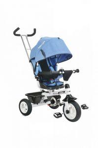 Tricicleta cu sezut reversibil Bebe Royal Paris Albastru