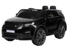 Masinuta electrica cu scaun de piele Land Rover Discovery Sport Black