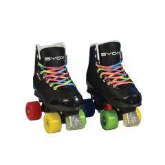 Patine cu rotile pentru copii Rainbow L 36-37
