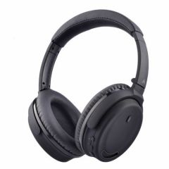 Casti audio AVANTREE ANC032, Active Noise Cancelling,  Bluetooth 4.1, over-ear, negru