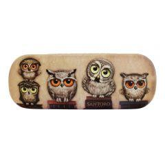 Etui ochelari Book Owls