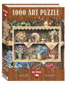 Puzzle lemn Cupboard Garden