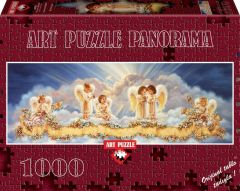 Puzzle 1000 piese - Panoramic Bless Our Home-DONA GELSINGER