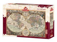 Puzzle World Map-Alberto Rossini