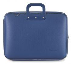 "Geanta lux laptop Bombata 17"" Maxi-Albastru cobalt"