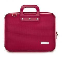 "Geanta lux business laptop 13"" Nylon Bombata-Rosu"