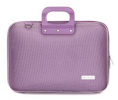"Geanta lux laptop Bombata 15.6"" Clasic nylon-Lila"