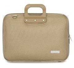 Geanta lux business laptop 15.6 in Clasic nylon Bombata-Grej
