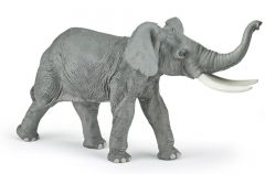 Figurina Papo-Elefant cu trompa in sus