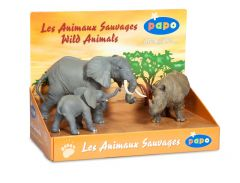 Set Figurine - Papo animale jungla