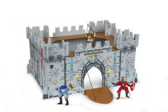 Set Figurine Papo-Castel carton+3 figurine